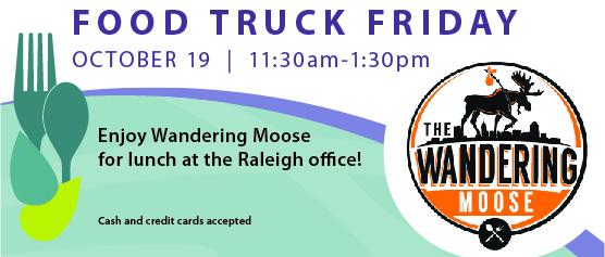 Food Truck Friday: Wandering Moose